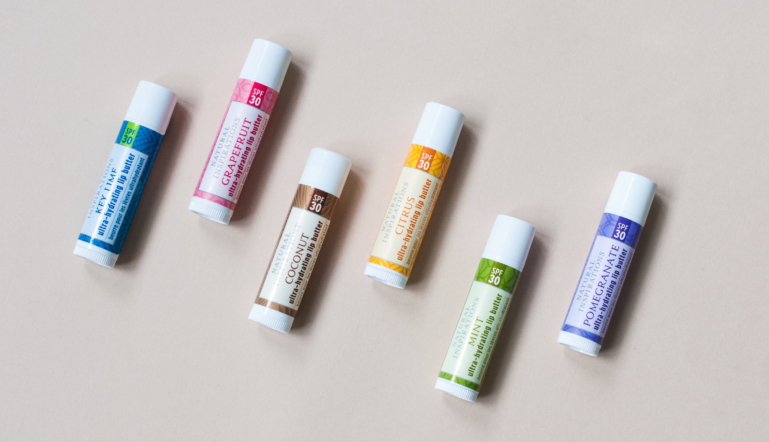 Moisturizing SPF 30 Lip Butter - Pucker up to softer, fuller lips with these unbelievably smooth, lightly flavored lip butters.
