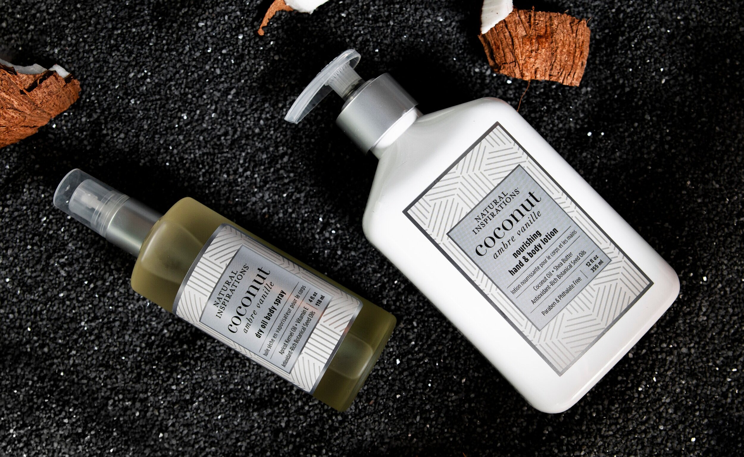 Nourishing Hand & Body Lotion - Quench thirsty skin with Coconut Oil, Shea Butter & nourishing botanicals that hydrate, soften & soothe your skin, leaving it smooth & lightly scented with clean, fresh fragrances.