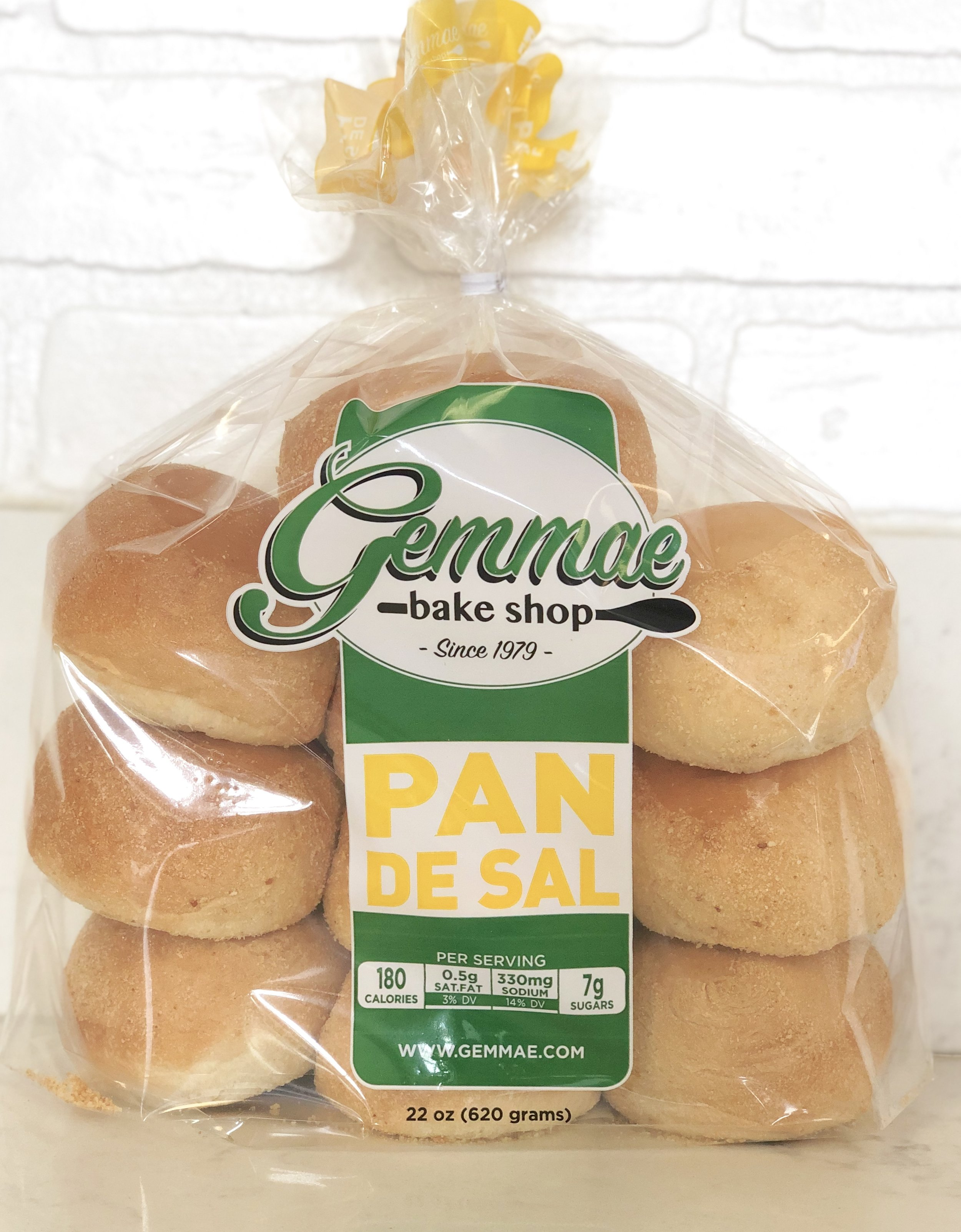 PAN DE SAL   Our famous Filipino bread bun. Soft, fluffy, and baked every morning to ensure freshness. Each bag contains 10 bread buns.  Available hot and fresh from the oven between 6:30AM - 9AM daily . Best when toasted.