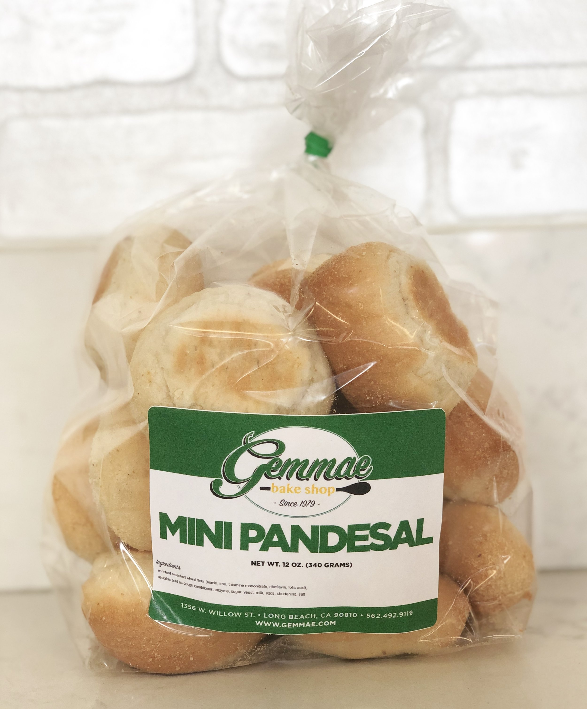 MINI PAN DE SAL   Bite-sized versions of our Filipino bread bun. Soft, fluffy, and baked every morning to ensure freshness. Each bag contains 15 bread buns. Best when toasted.
