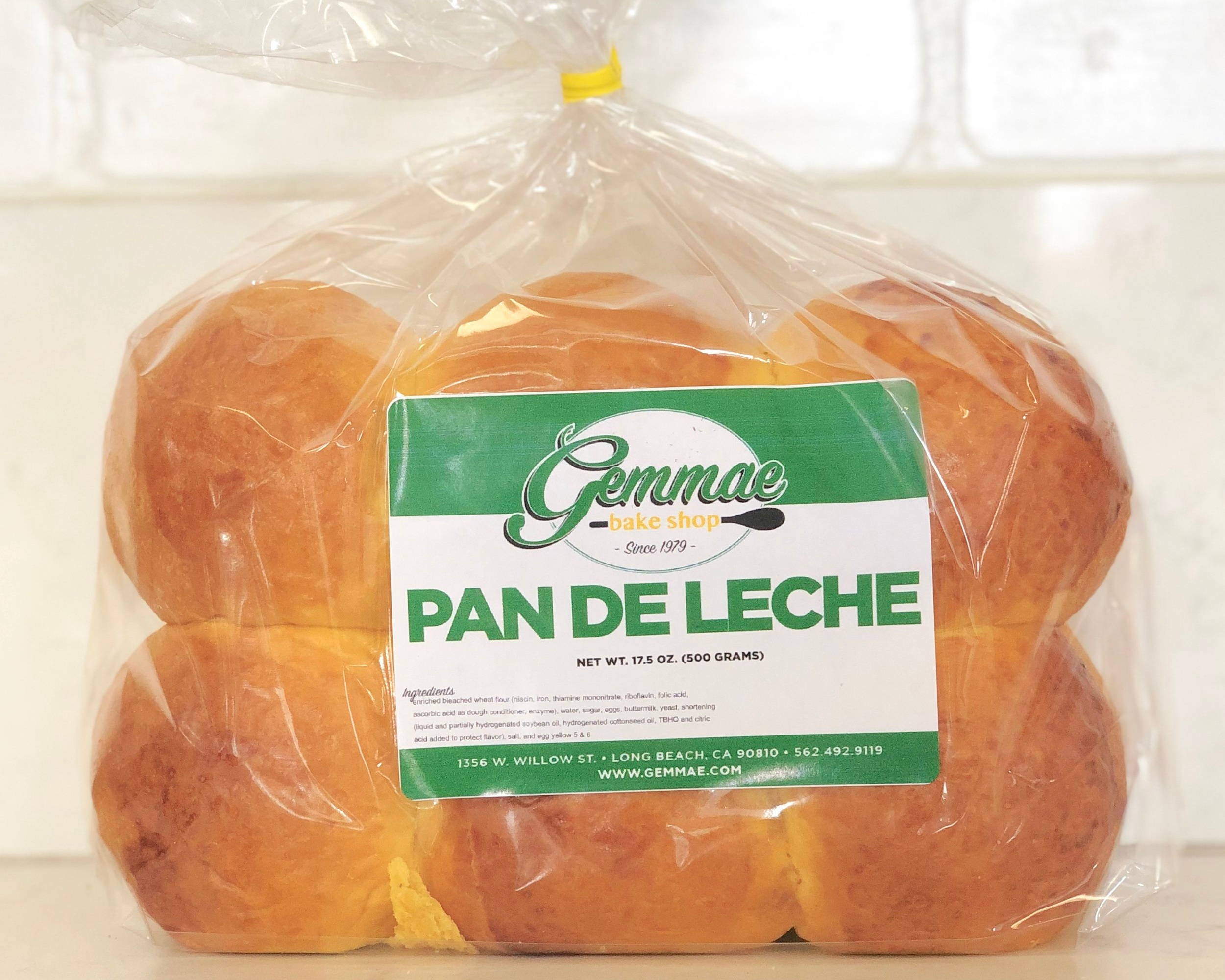 PAN DE LECHE   Soft, sweet and slightly larger than your average Hawaiian bread. Each bag contains 12 buns. Best when toasted.