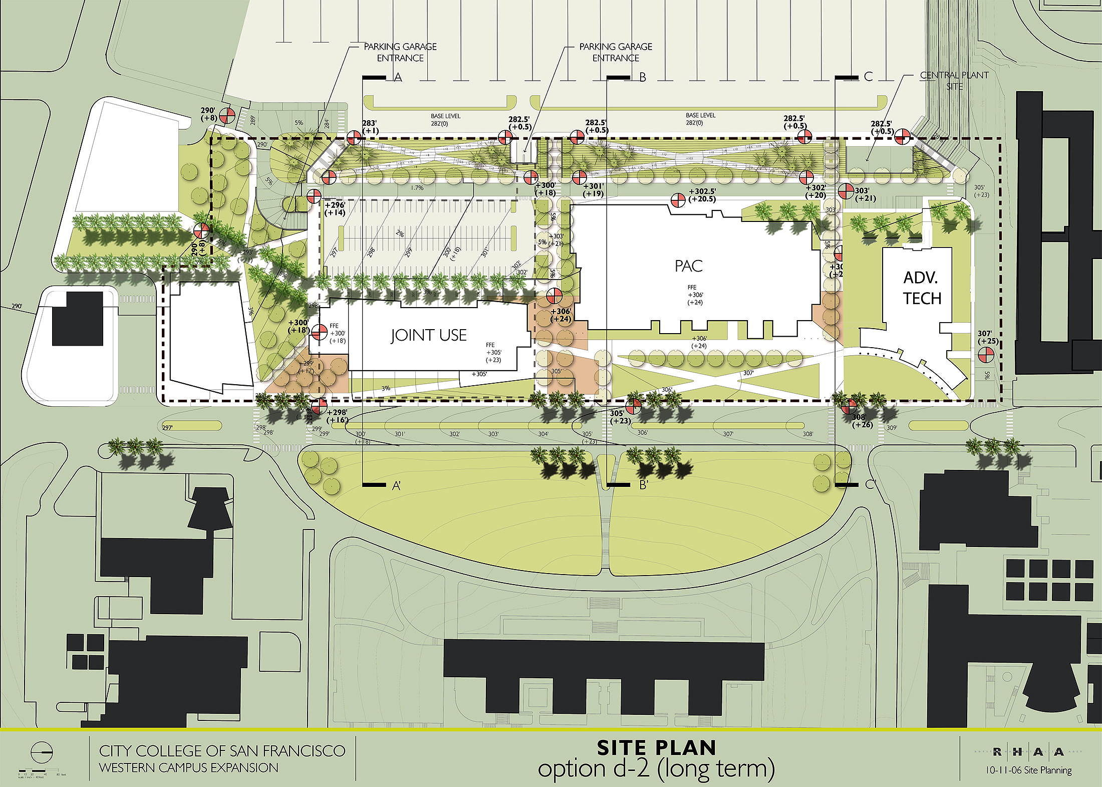 CCSF West Campus Master Plan  –          associate architect with Gensler