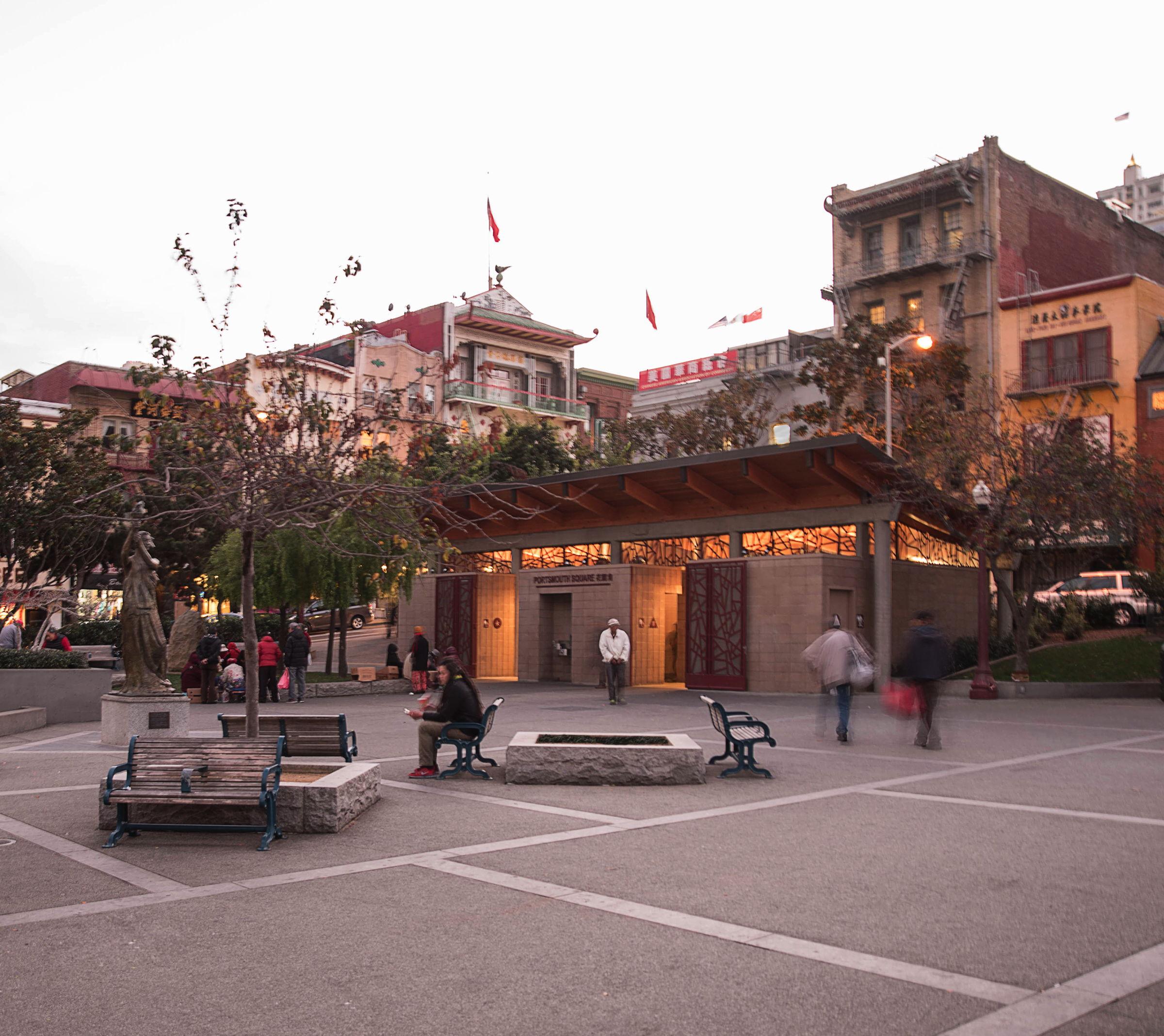Portsmouth Square Pavilion  – San Francisco