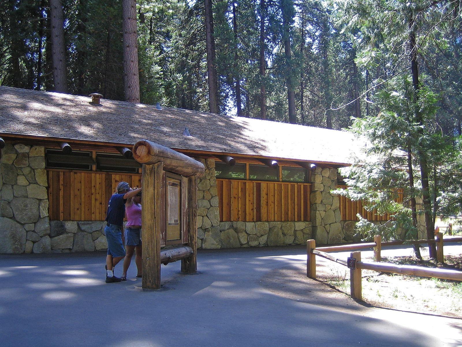 Yosemite Falls Rest Area  – Yosemite, California
