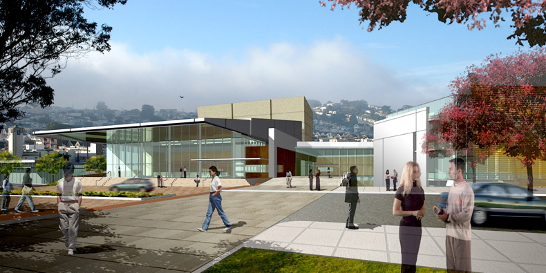 CCSF West Campus  – associate architect with Gensler
