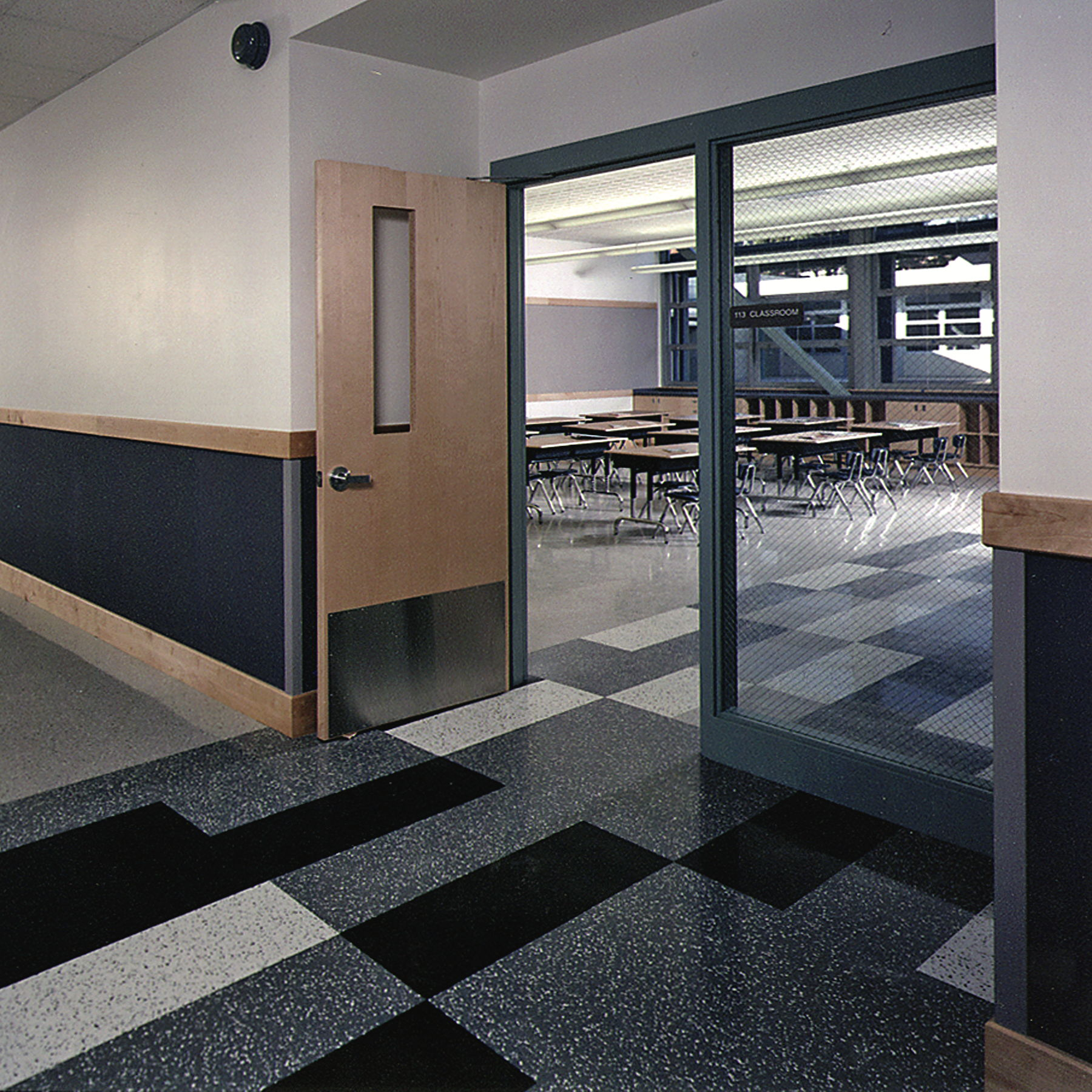 Classroom entry
