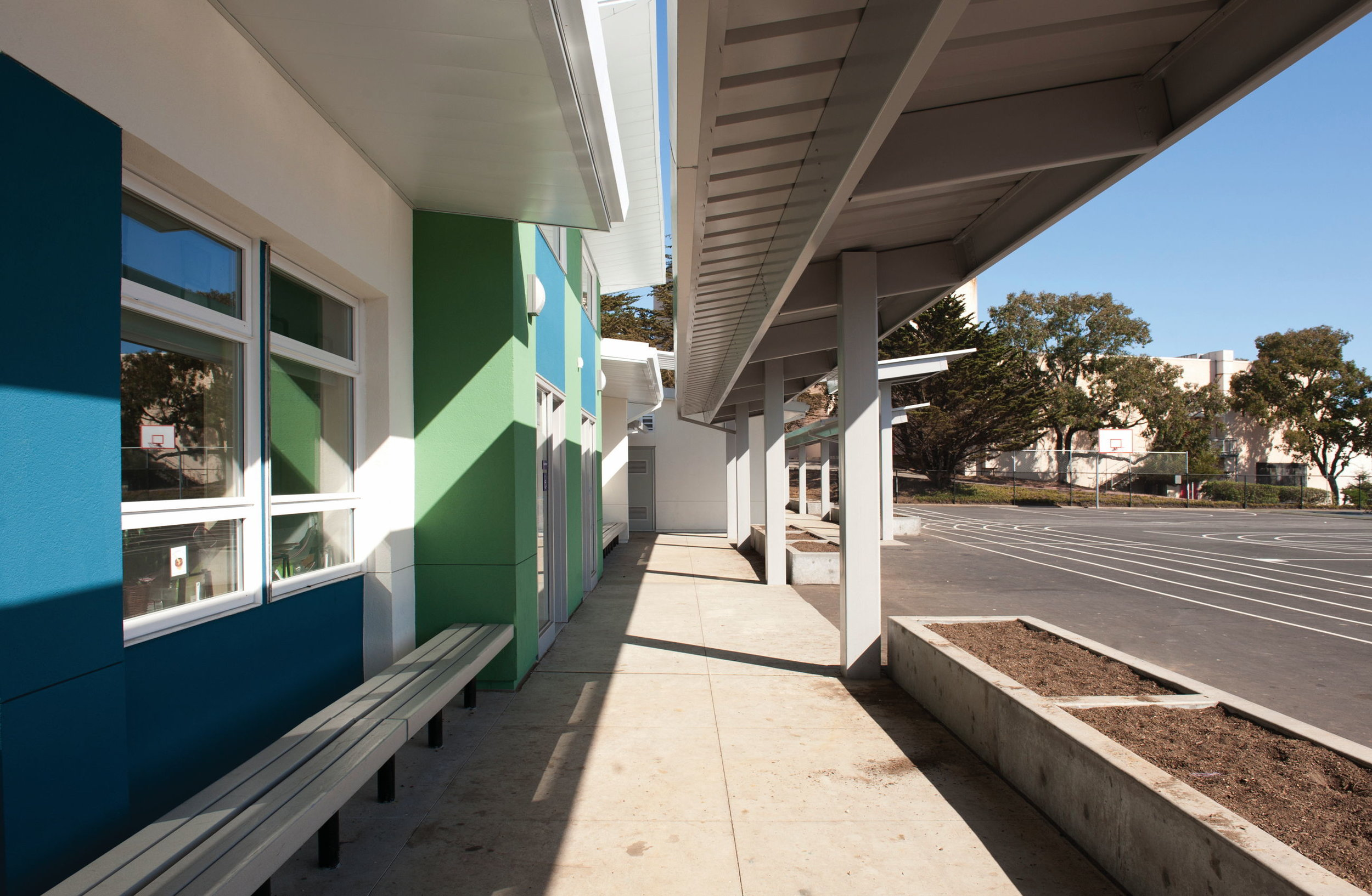 New classroom wing
