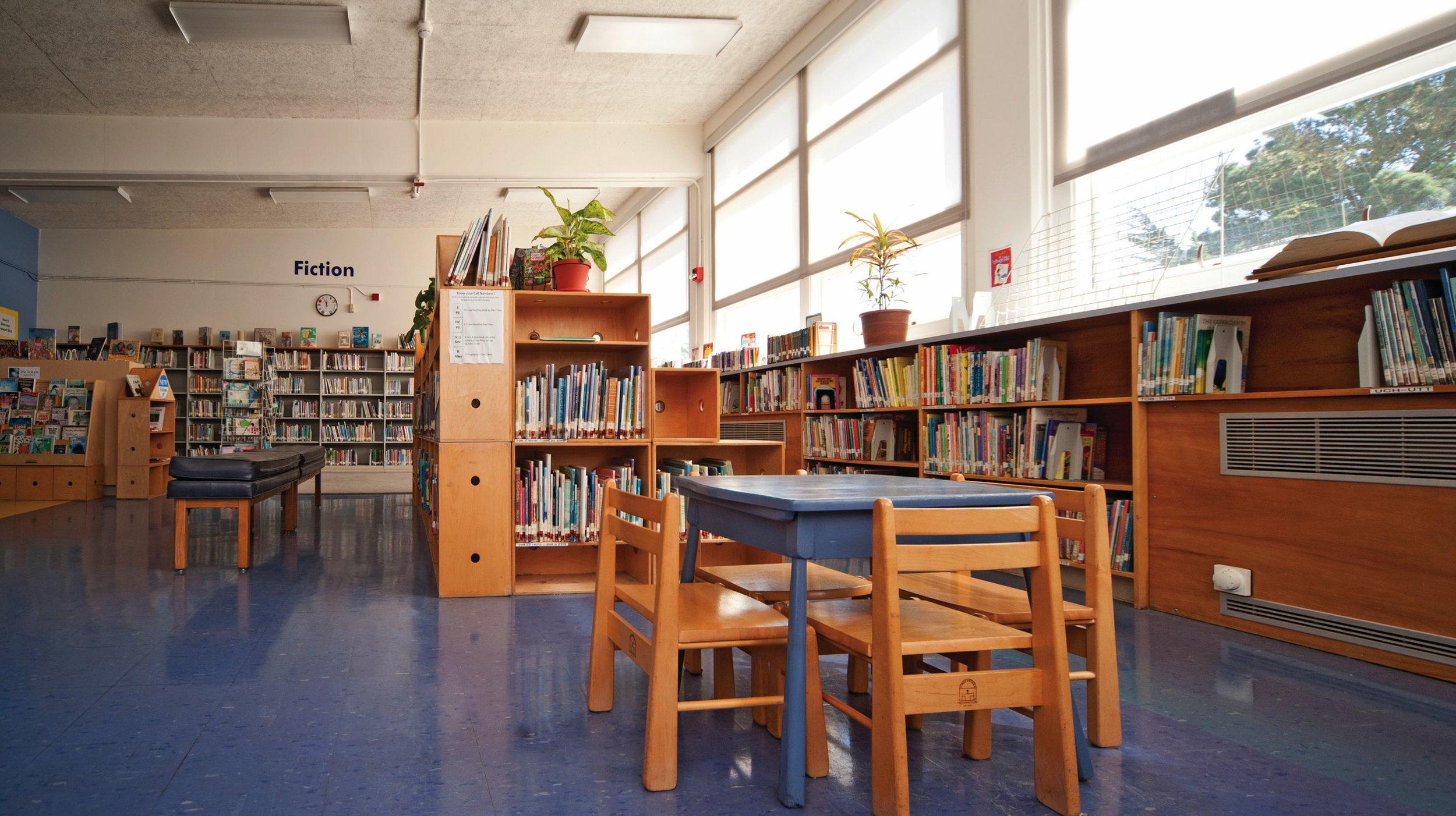 Library / media center renovation