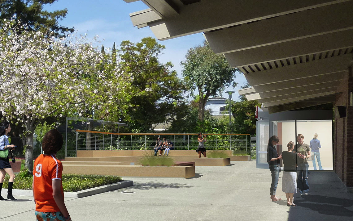 Outdoor learning court