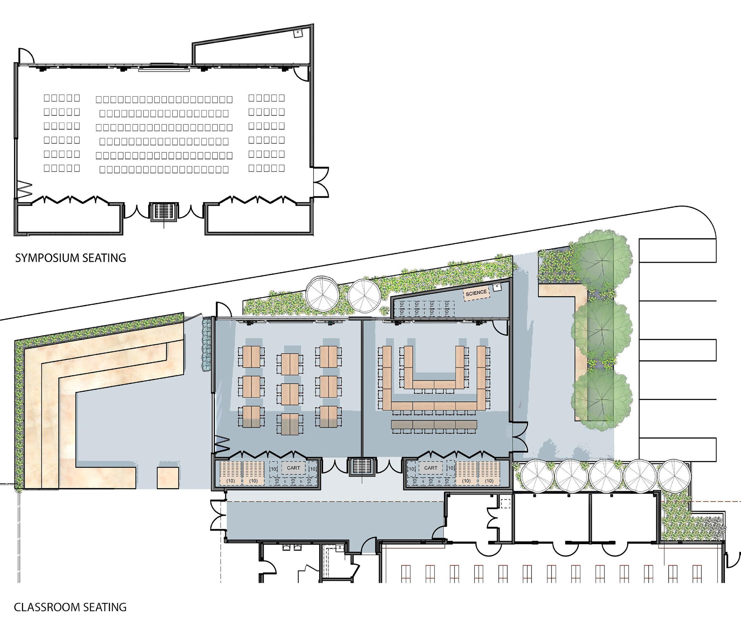 Plan of Global Learning Center