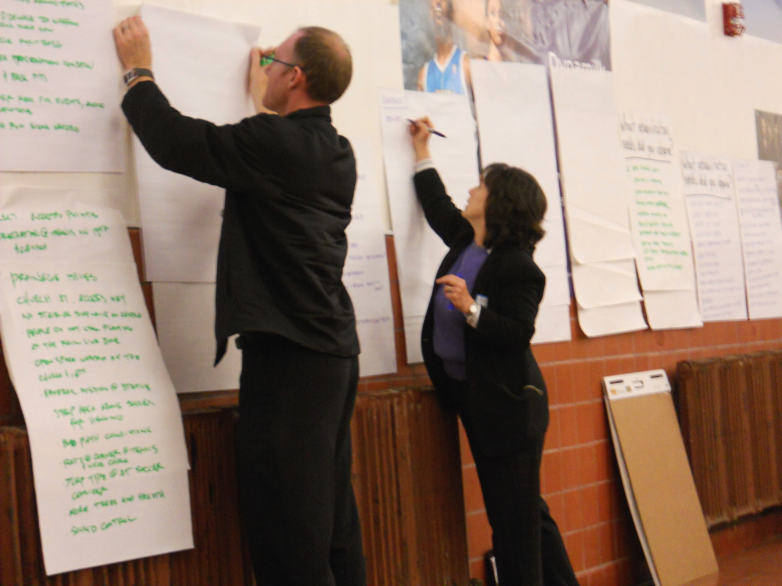Recording stakeholder input