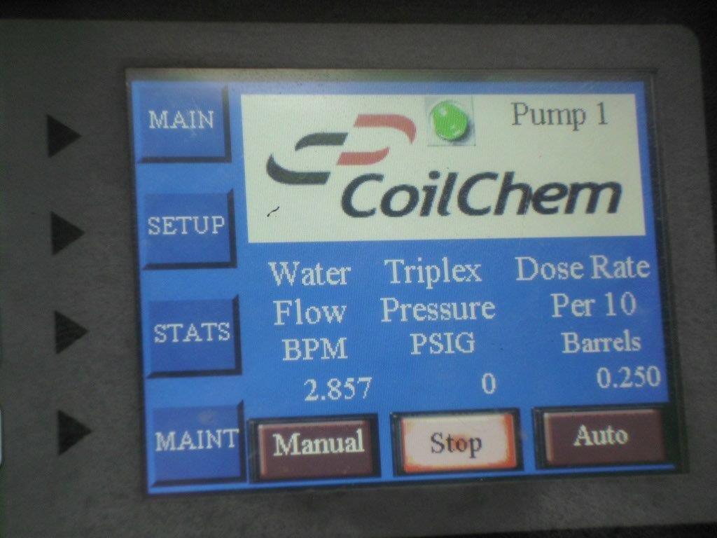 CoilChem Control Panel