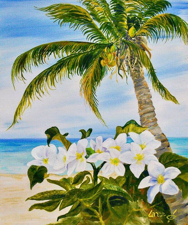 """Blooms in Paradise"" 