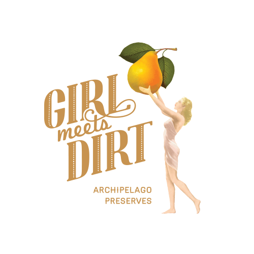 GIRL MEETS DIRT.    Title lettering by Anna Ropalo. Image, styling & layout by Erica.