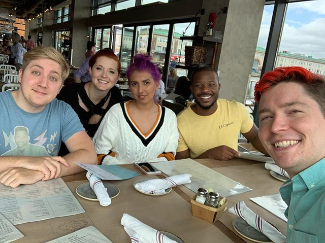 Lunch wish some great people! Looking forward to Minecon Earth on Saturday, Sep. 29!