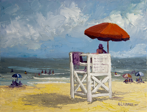 The Lifeguard (SOLD)