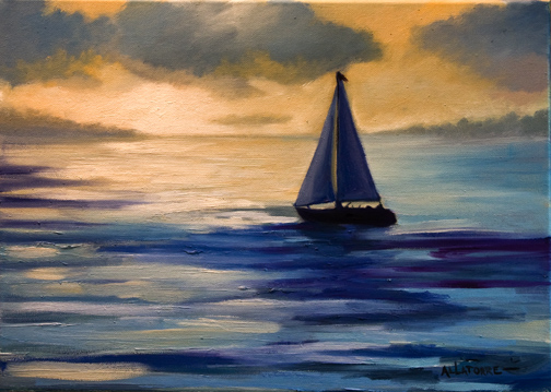 Off to Bermuda (SOLD)