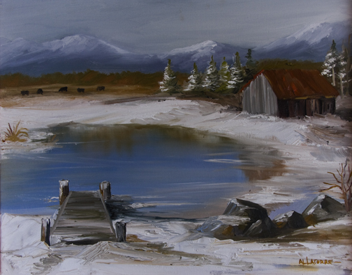 Frozen Pond (SOLD)