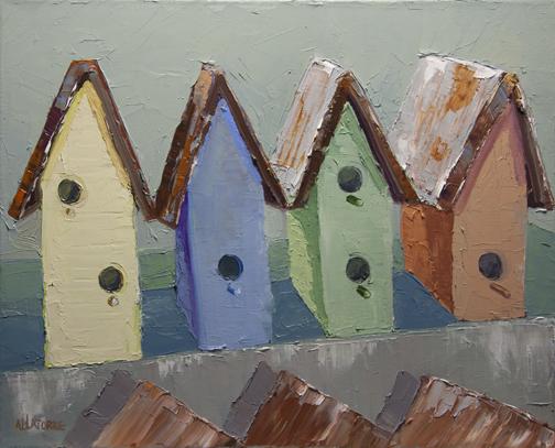 Birdhouses (SOLD)