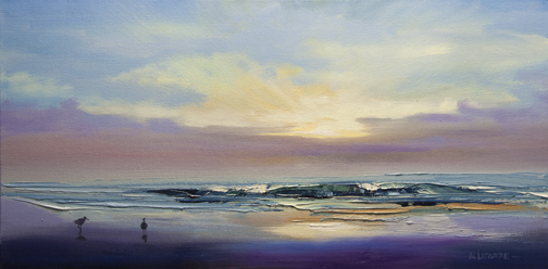 Plum, Sunrise (SOLD)