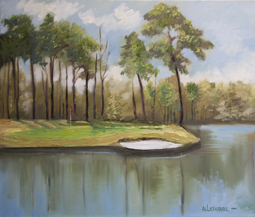 Cypress Pt 17th Hole (SOLD)
