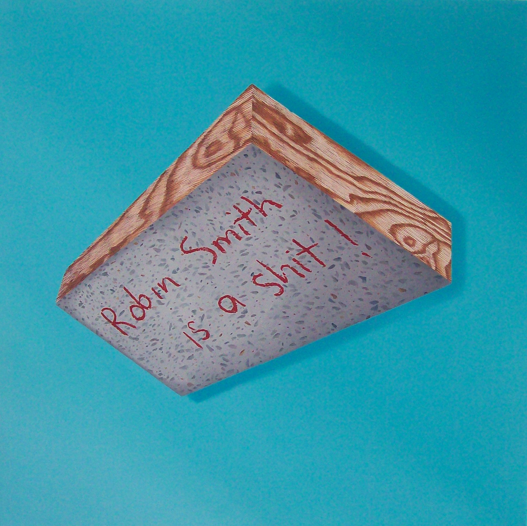 Robin Smith, oil on canvas, 2008
