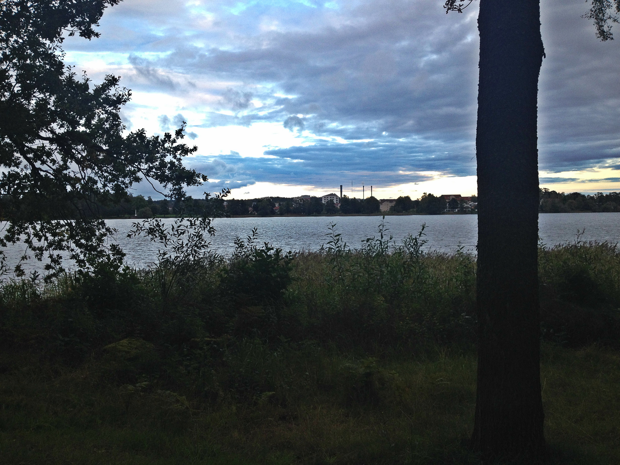 This is the amazing lake and view we bike by everyday on the way to campus. It is so breathtakingly gorgeous.