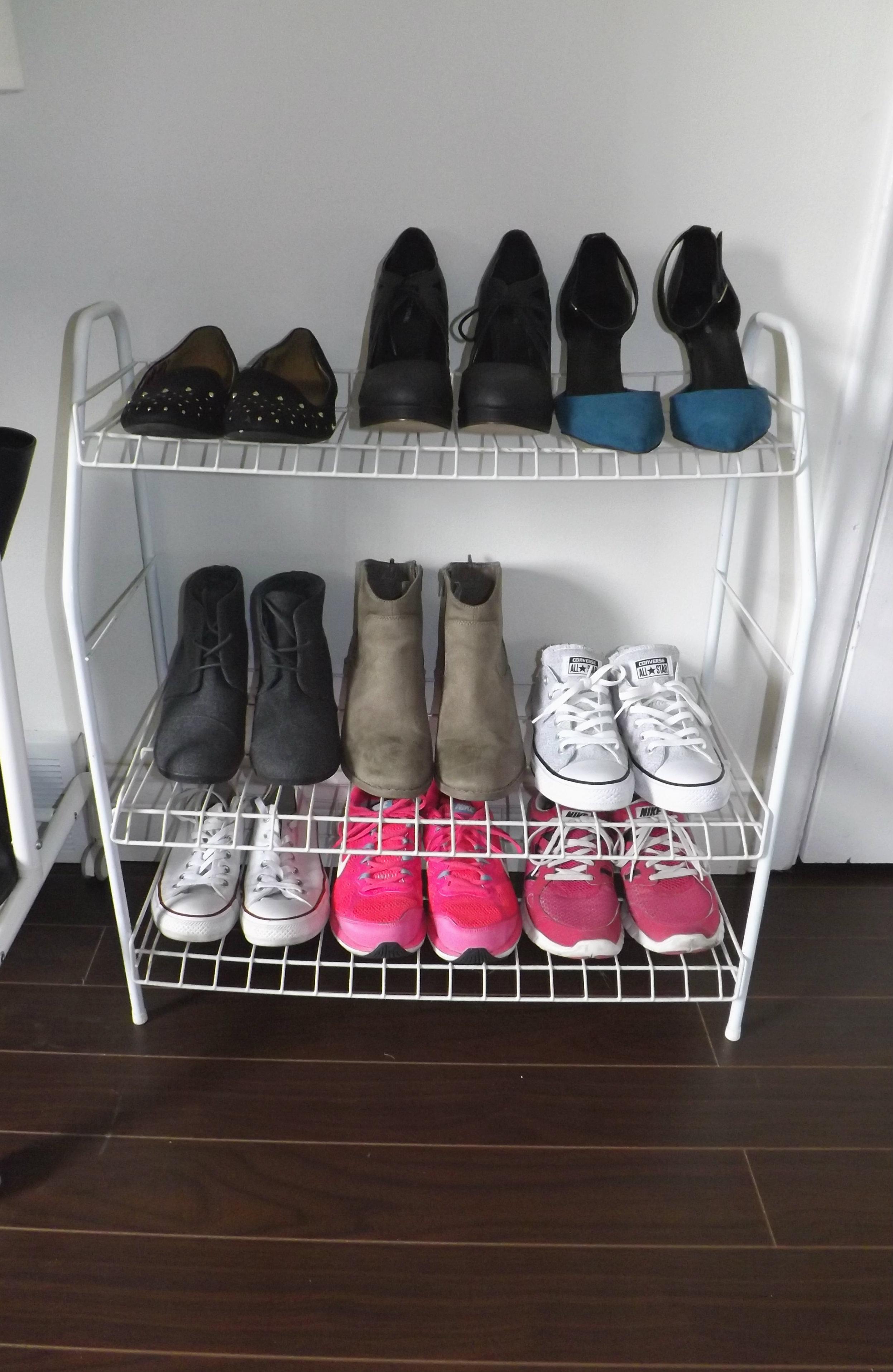 Shoe Rack | Tall Girl Meets World