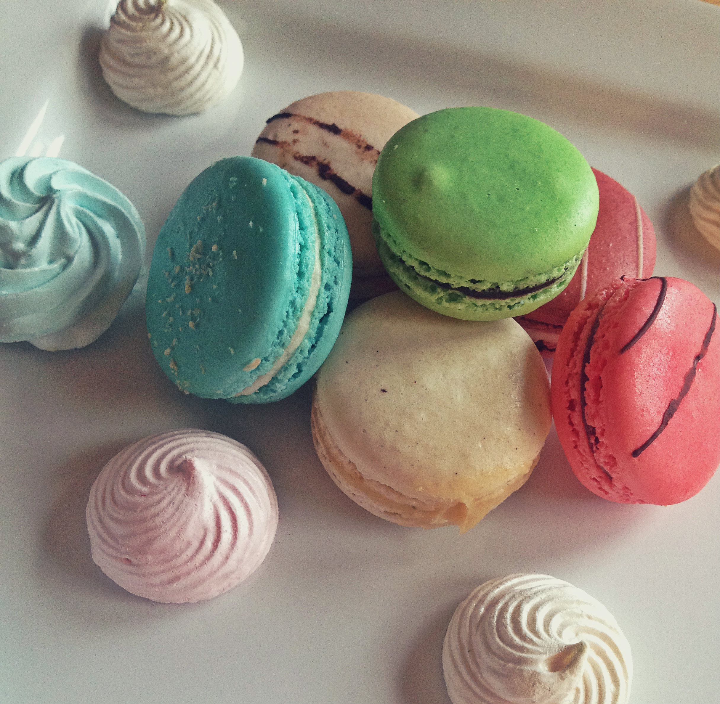 Macarons and meringue | Tall Girl Meets World