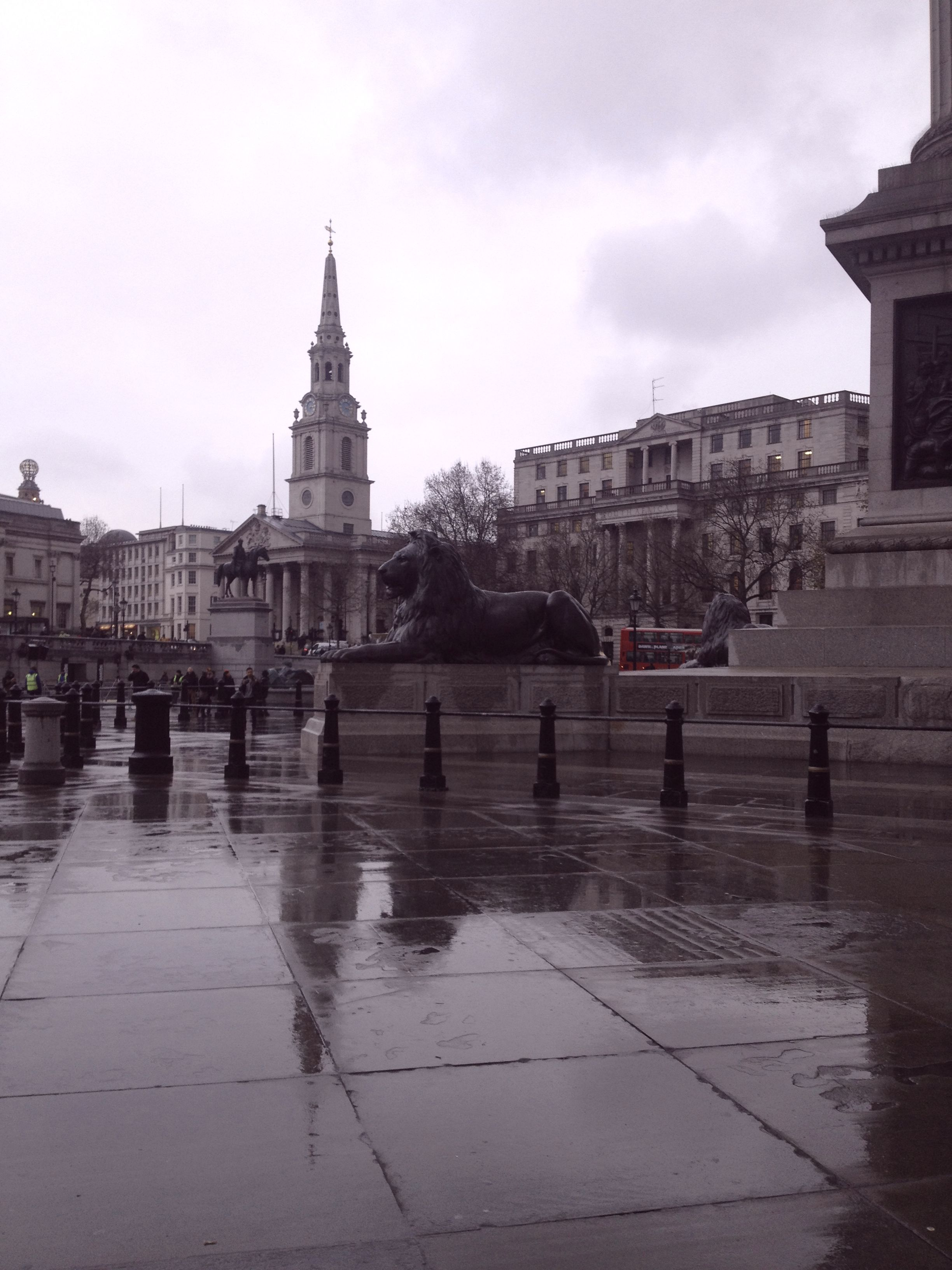 Statue in London | Tall Girl Meets World