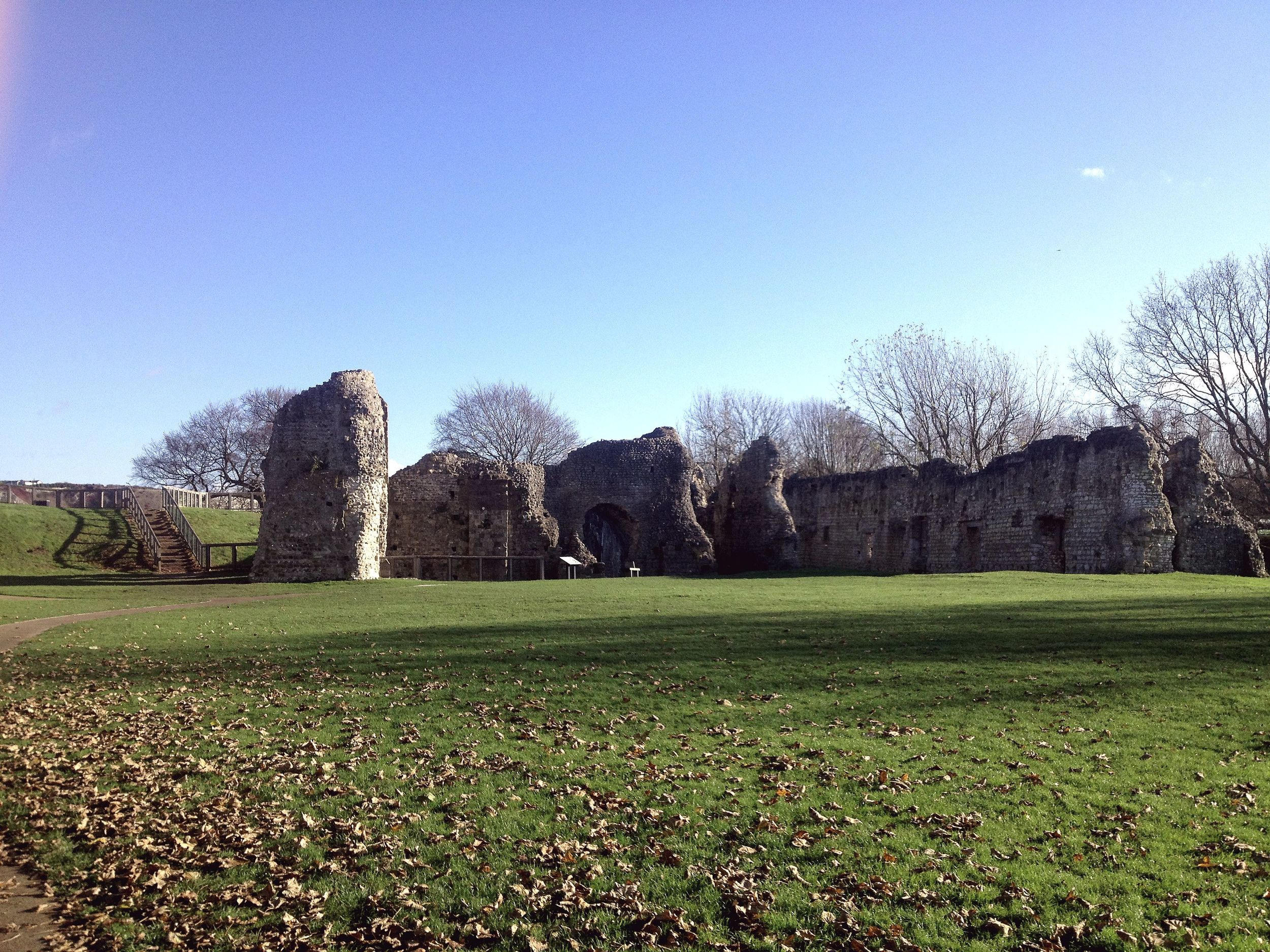 Lewes Ruins | Tall Girl Meets World