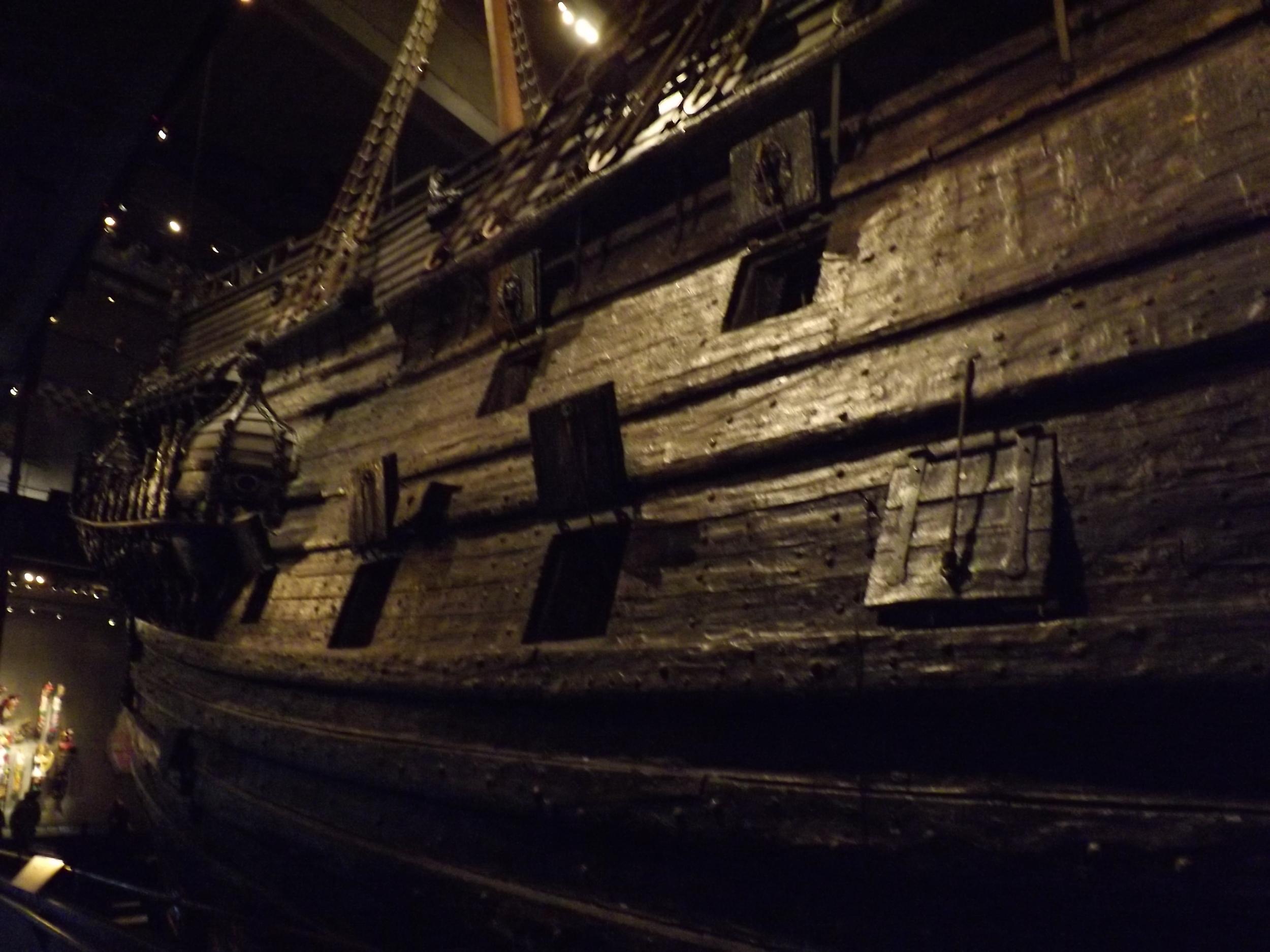 Side of Vasa Ship | Tall Girl Meets World