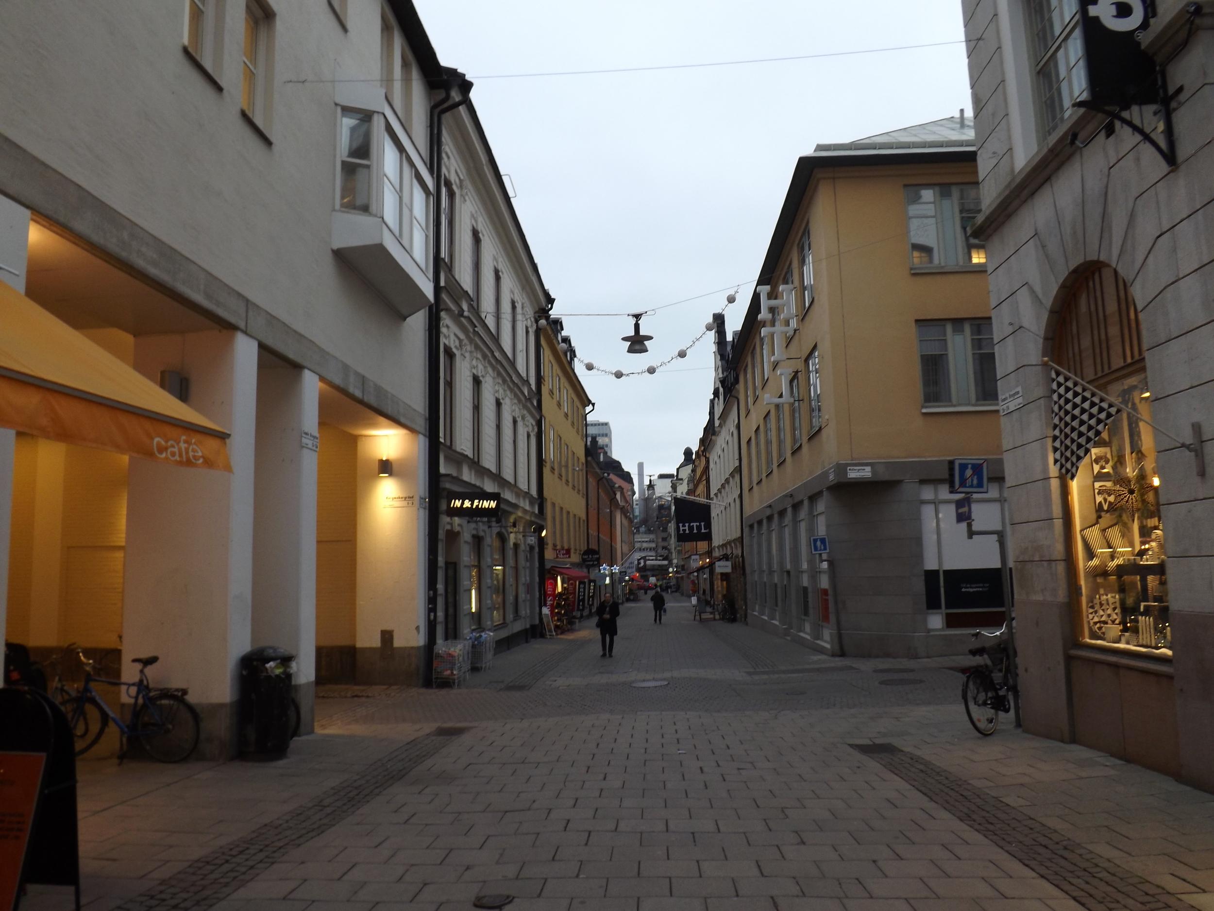 Stockholm Walkway | Tall Girl Meets World