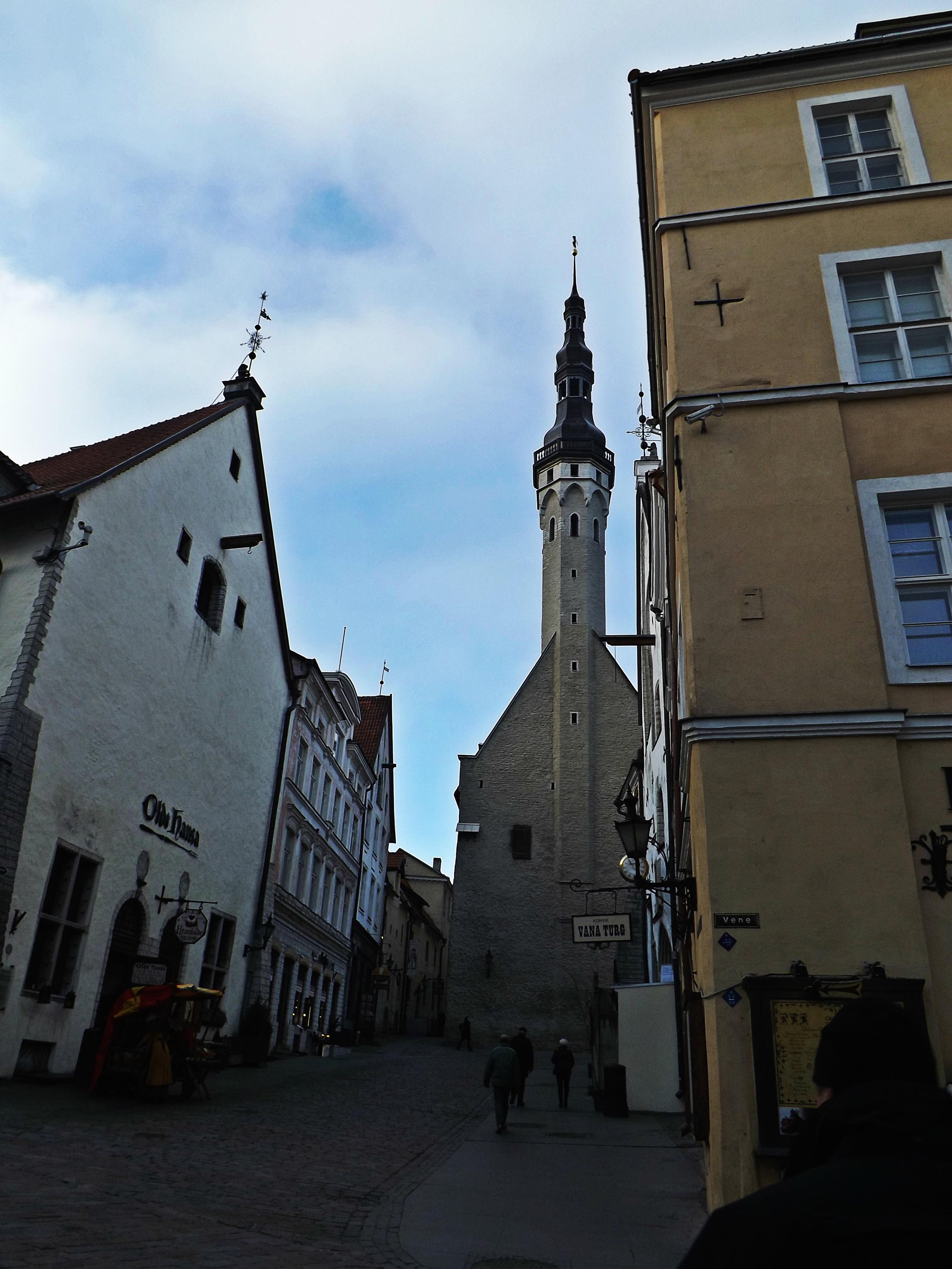 Tallinn Buildings in the Day | Tall Girl Meets World