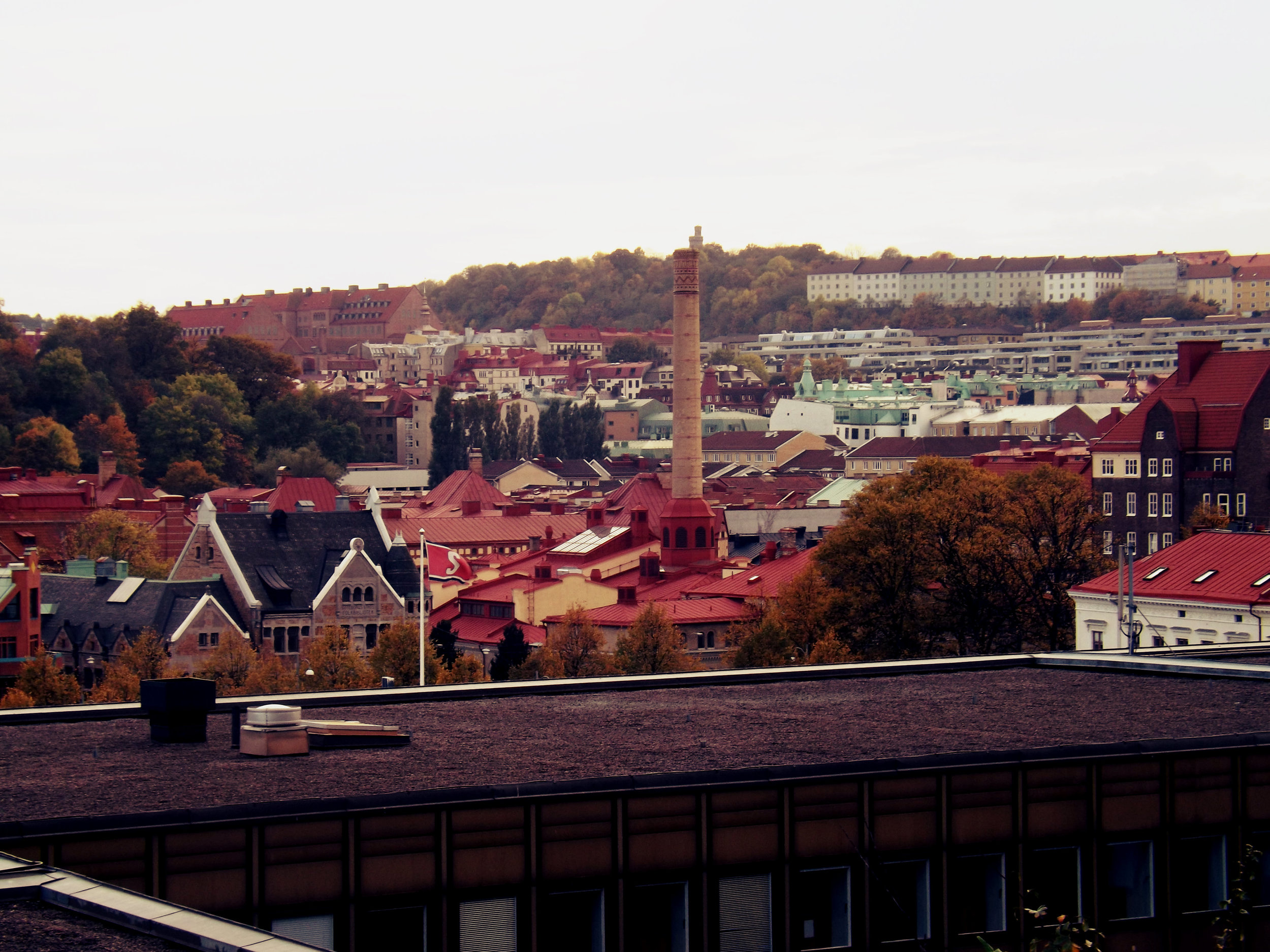 Gothenburg Roof View | Tall Girl Meets World
