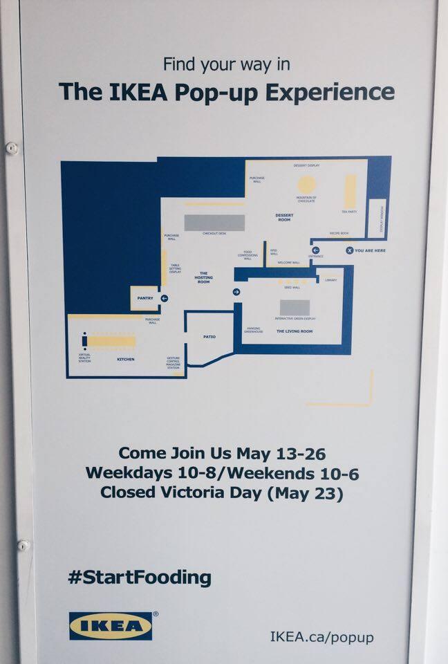 IKEA Pop-Up Experience Sign | Tall Girl Meets World