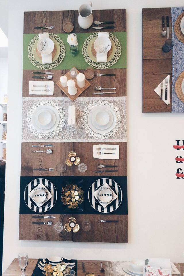 Table Display on the Wall | Tall Girl Meets World