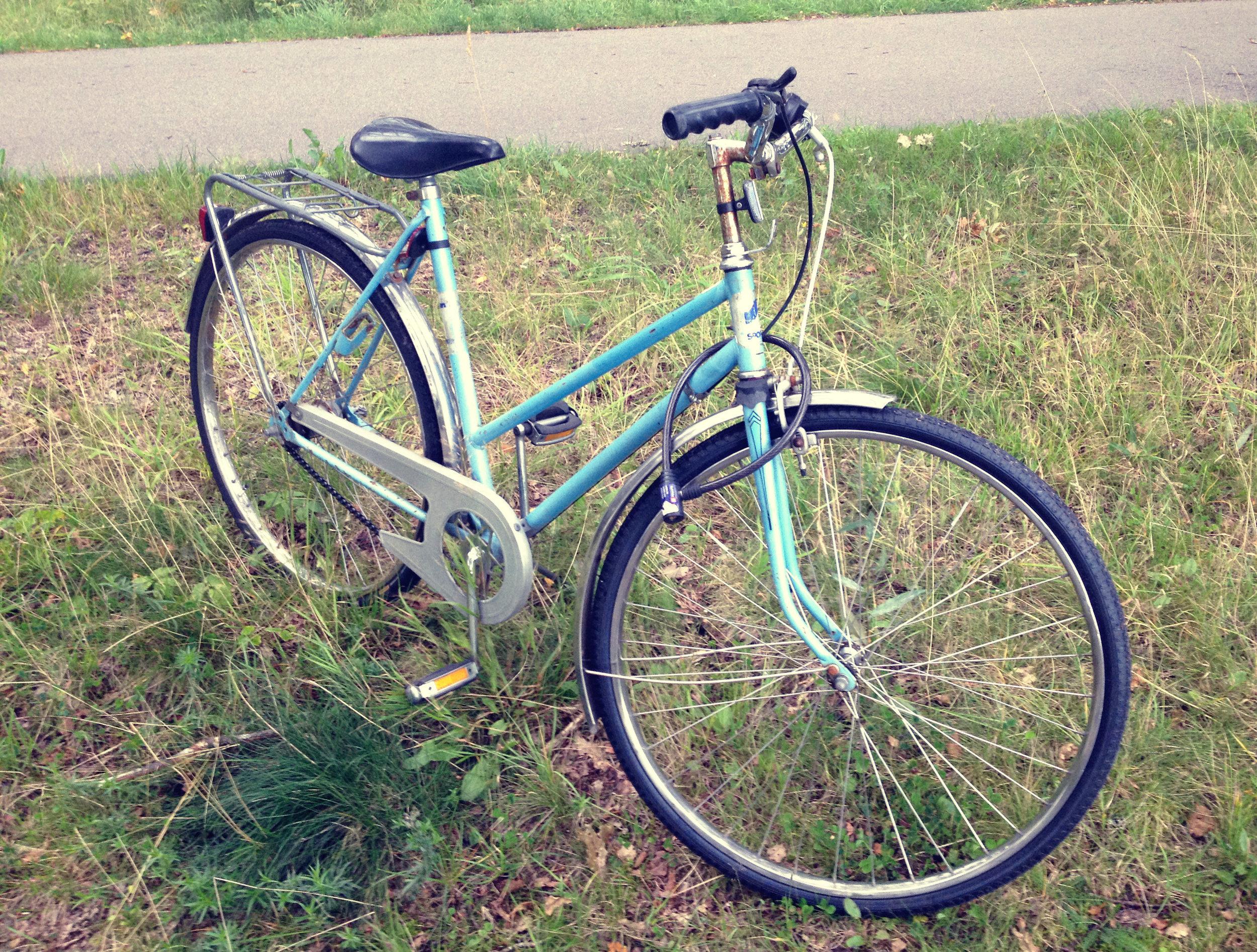 Blue Bike   Tall Girl Meets World