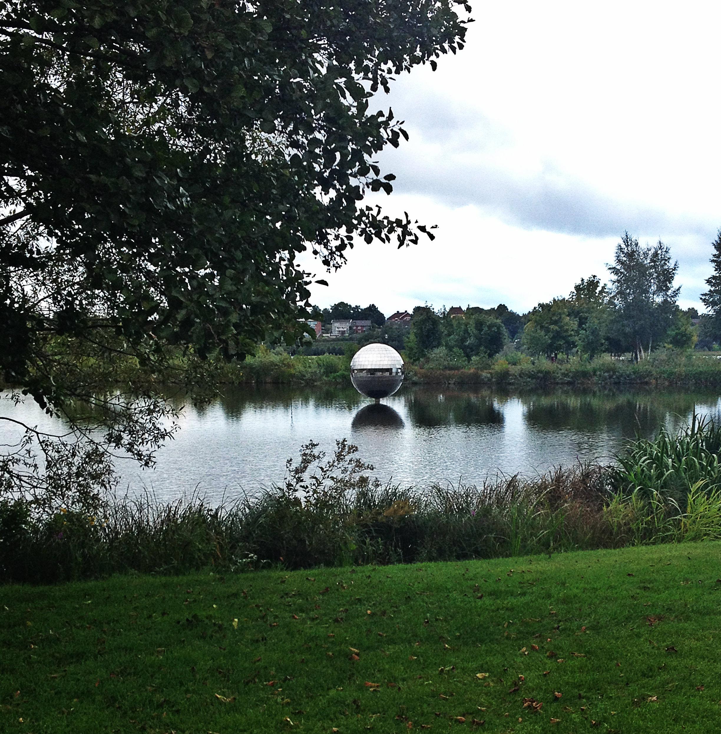 Lake with Disco Ball   Tall Girl Meets World