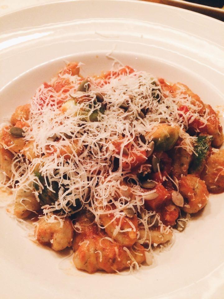 Gnocchi from Badali Bar and Cucina   Tall Girl Meets World