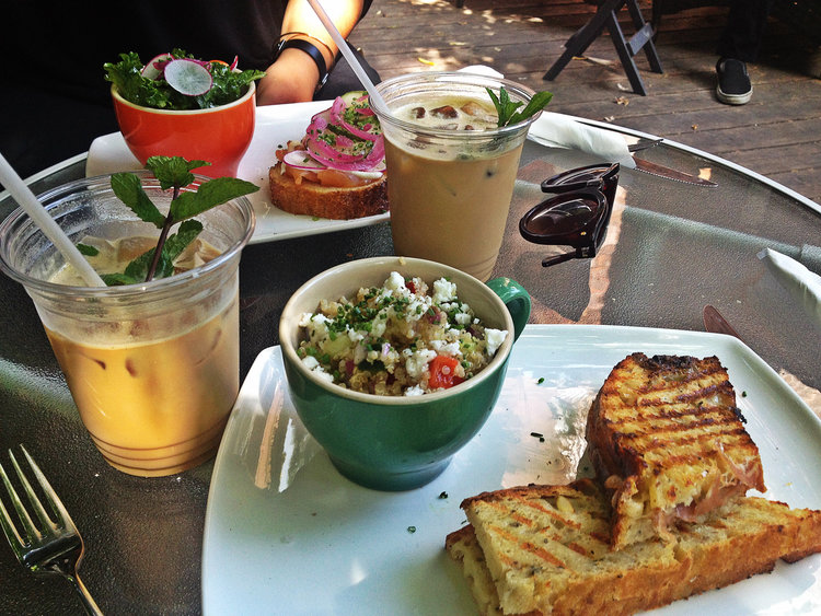 Lunch at Fika | Tall Girl Meets World