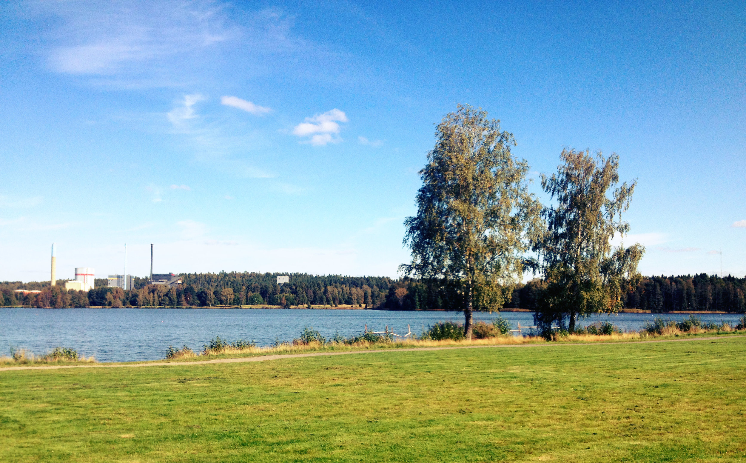 Linnaeus University Lake View | Tall Girl Meets World