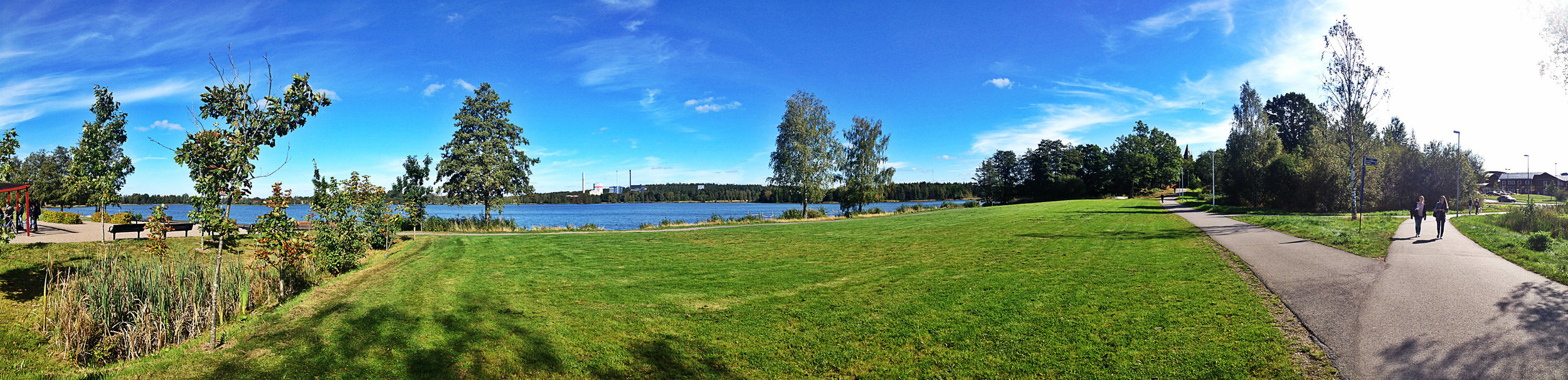 Linnaeus University Panorama | Tall Girl Meets World