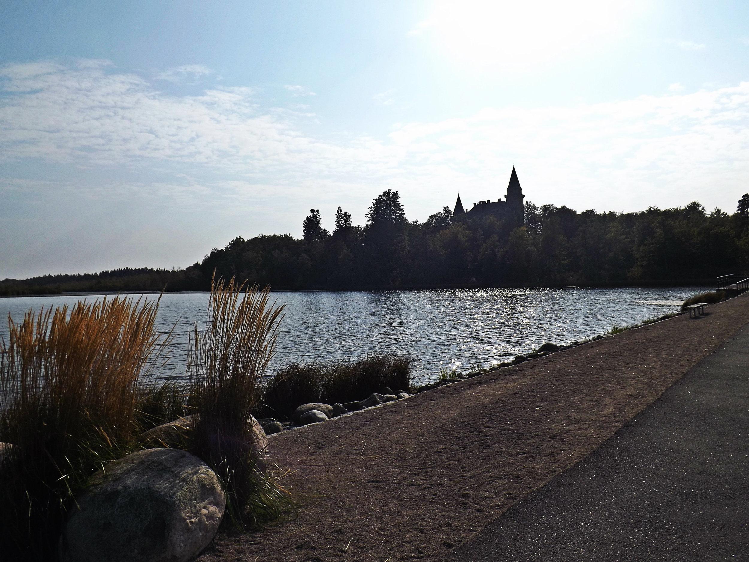 Växjö Lake and Castle   Tall Girl Meets World