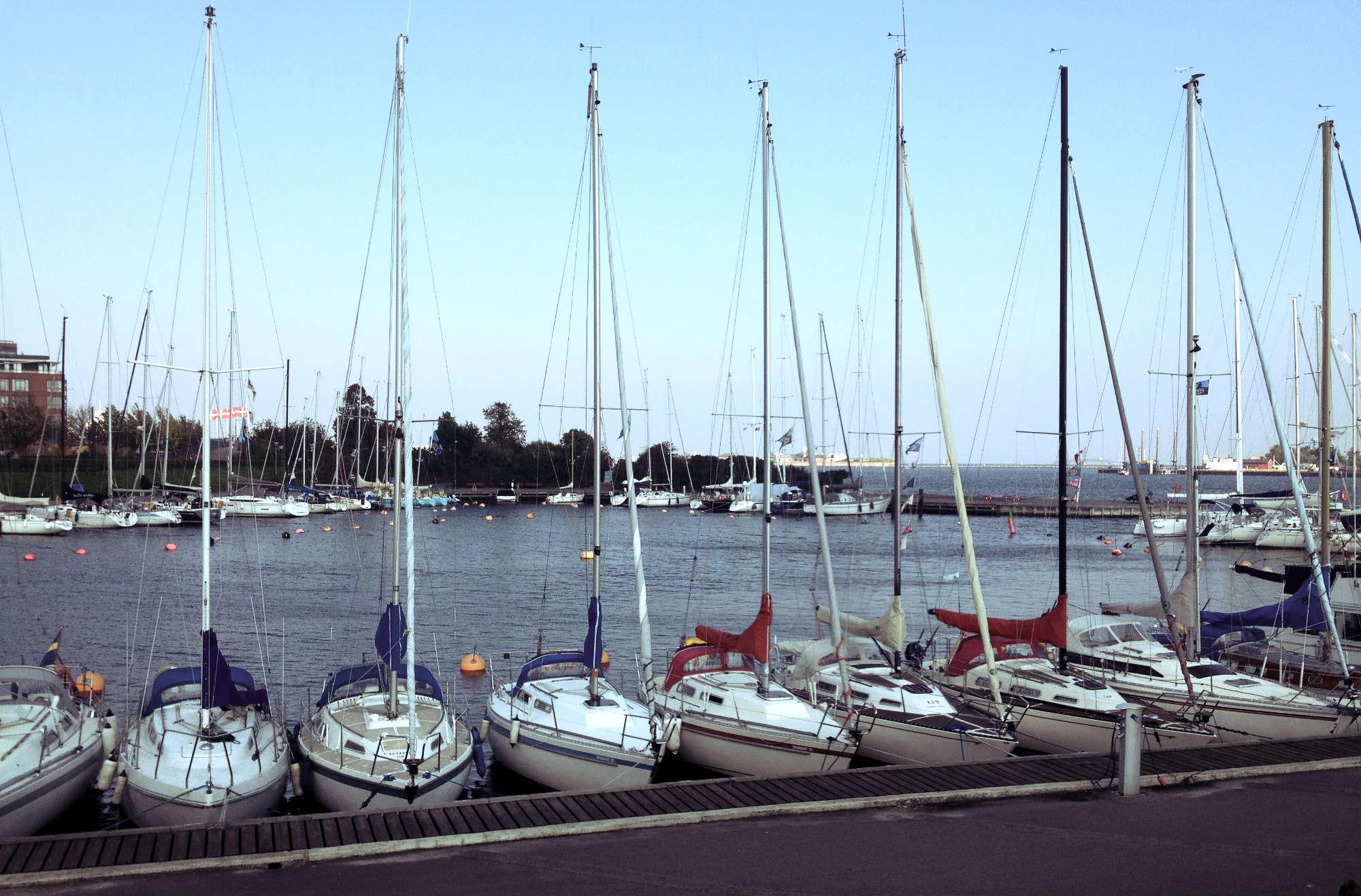 Sailboats Along Copenhagen Harbour | Tall Girl Meets World