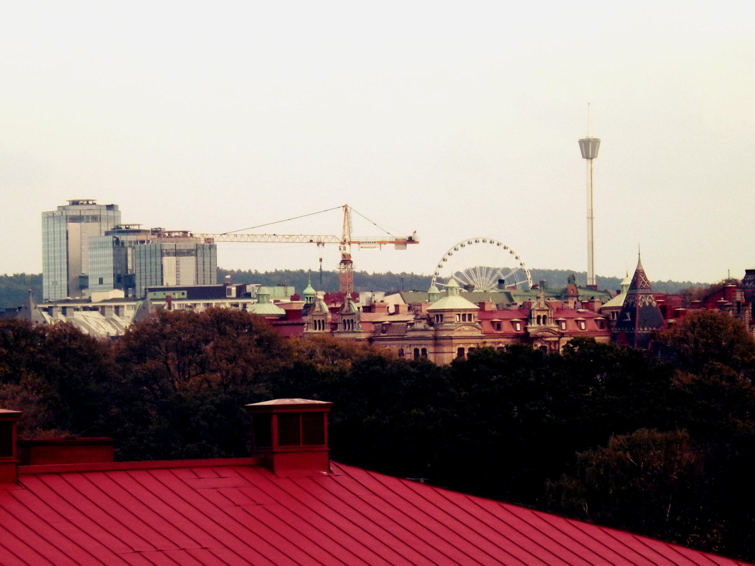 Gothenburg Ferris Wheel + Construction | Tall Girl Meets World