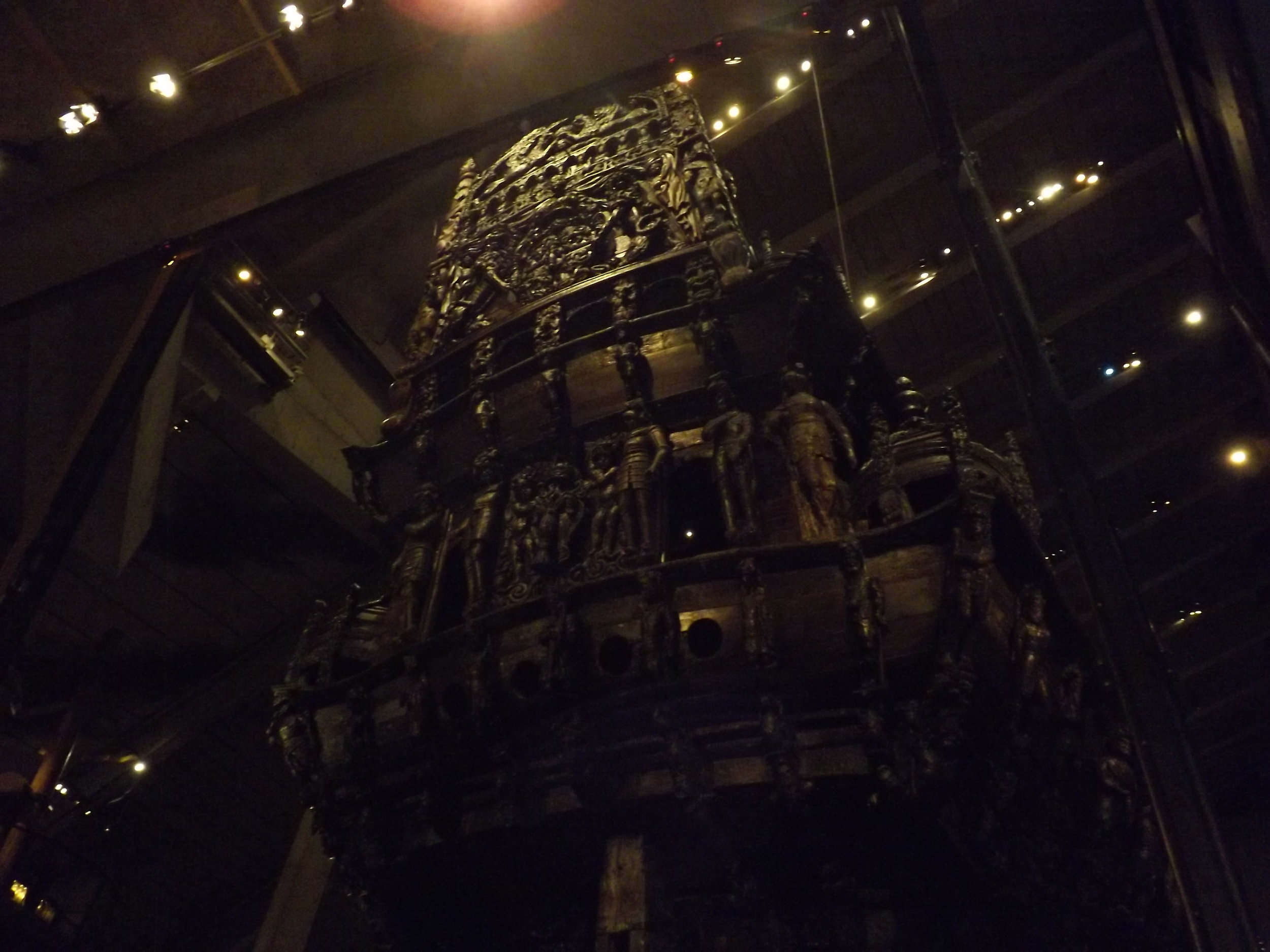 Underneath the Boat in the Vasa Museum | Tall Girl Meets World