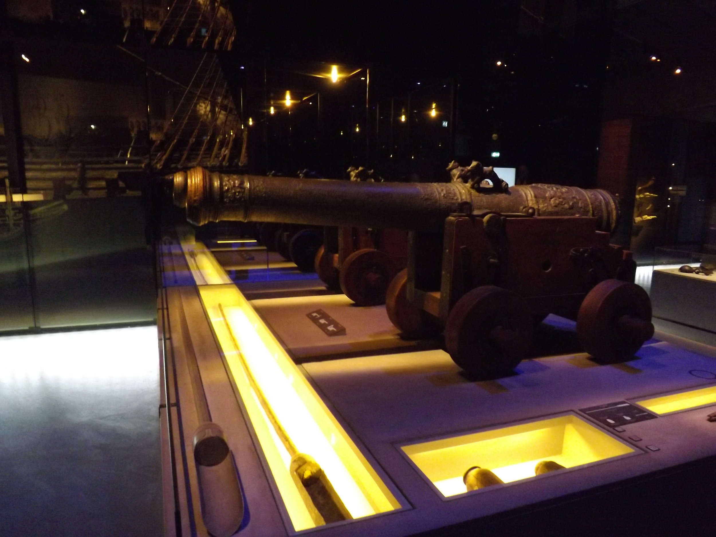 Canons at the Vasa Museum | Tall Girl Meets World