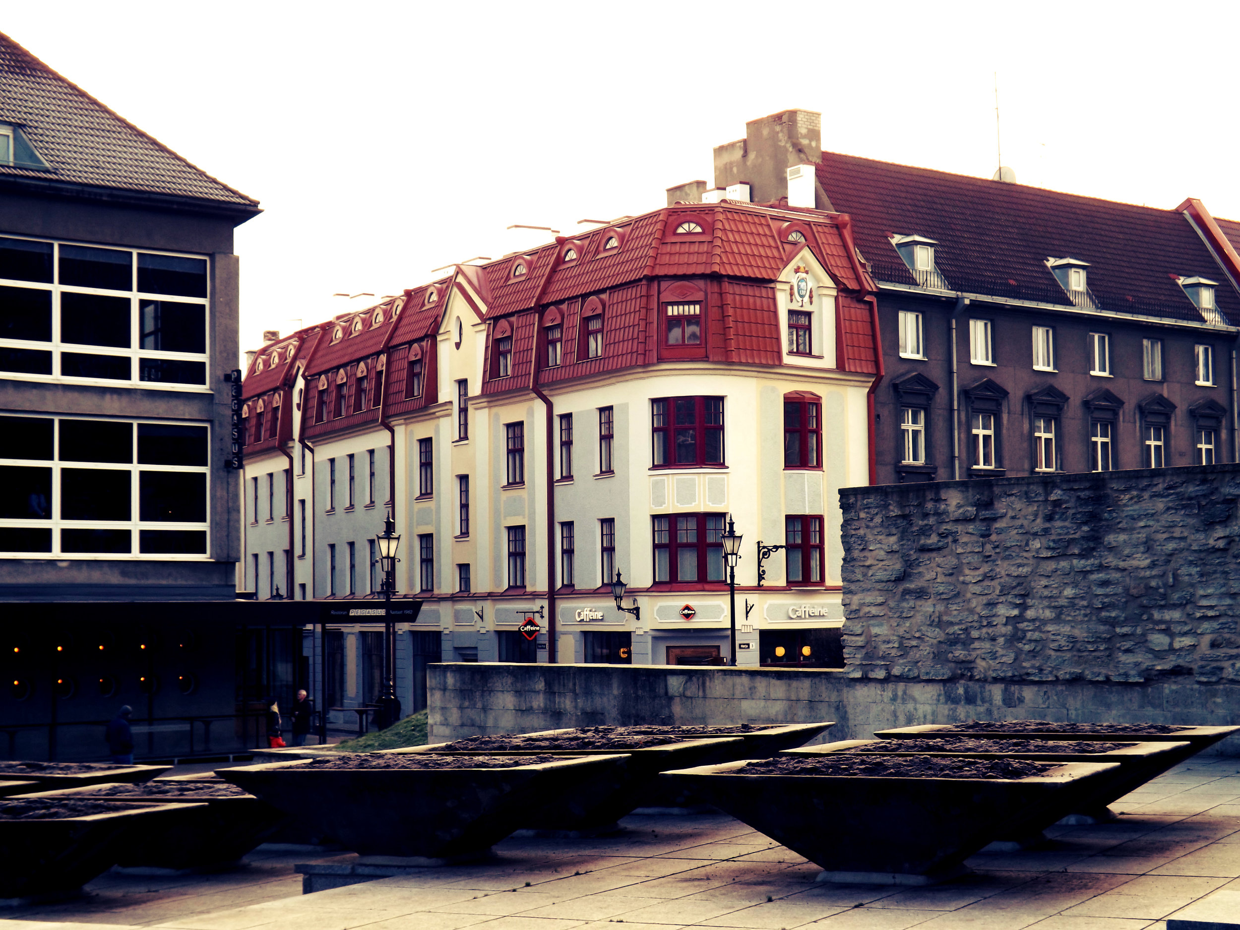 Red Roof Buildings in Estonia | Tall Girl Meets World