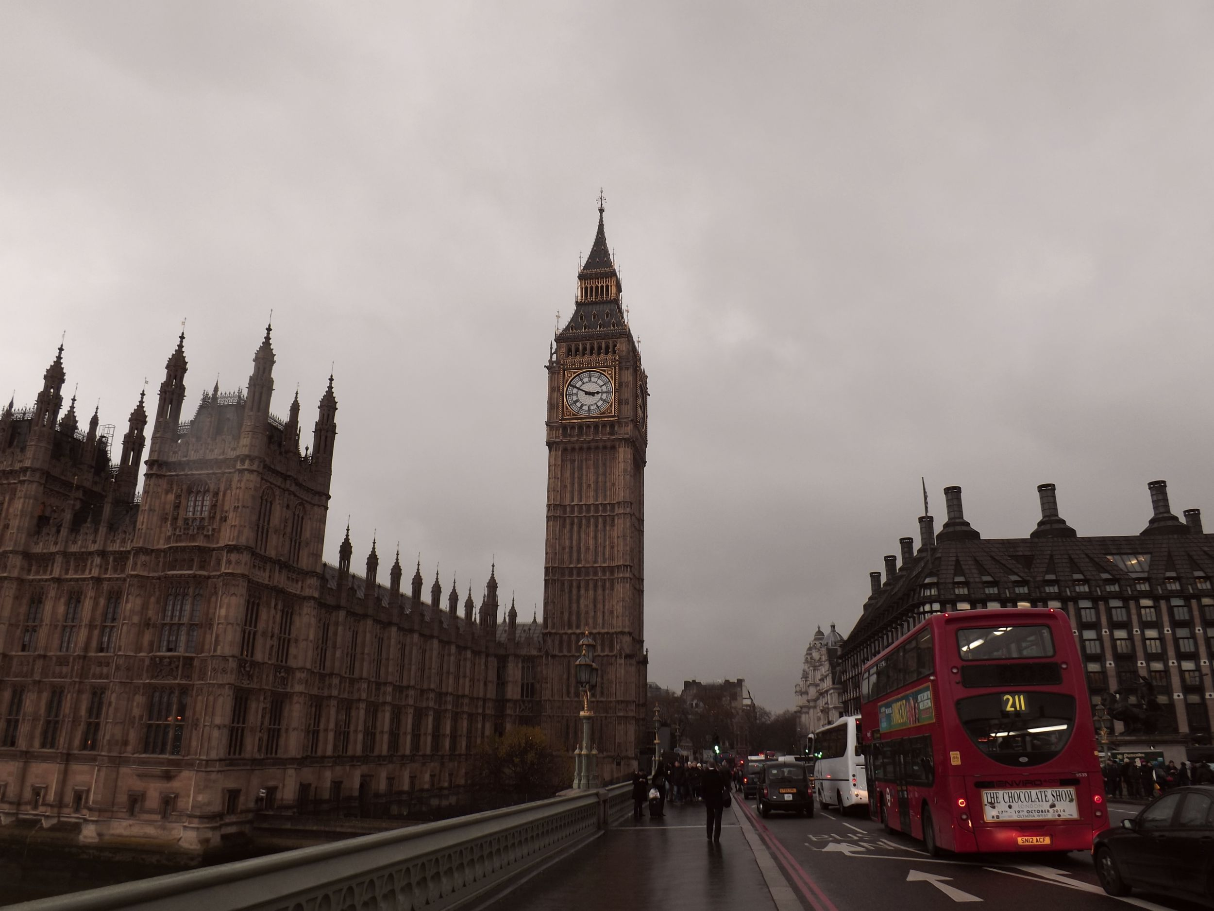 Big Ben with Red Bus | Tall Girl Meets World